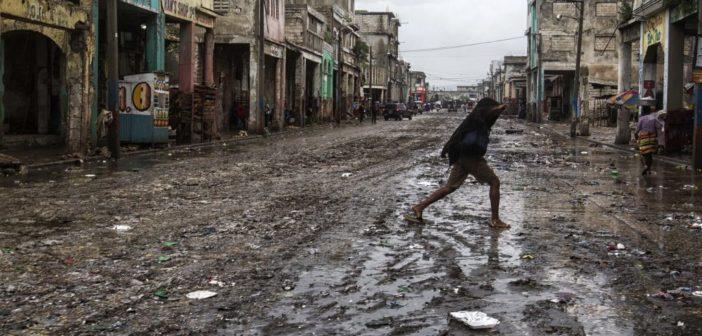 Emergencia en Haití por el huracán Matthew