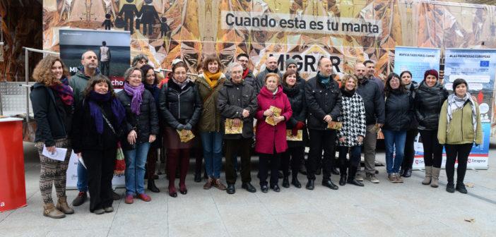 Presentamos la campaña Migrar #EsUnDerecho en Zaragoza