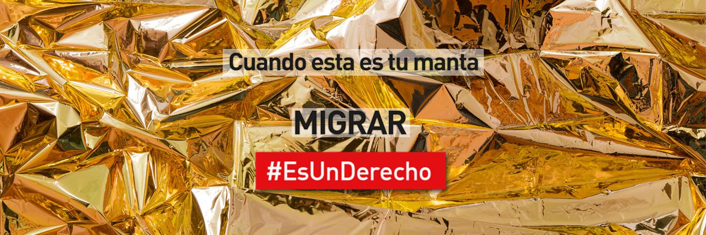 Twitter Migrar #EsUnDerecho 1500x500