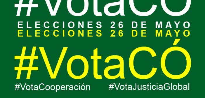 #VotaCÓ. Campaña por un voto comprometido con la justicia global