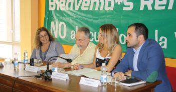 Los partidos han firmado en Zaragoza un compromiso por los derechos de las personas migrantes y refugiadas 26J