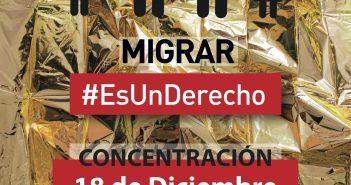 Concentración 18-dic Migrar #EsUnDerecho