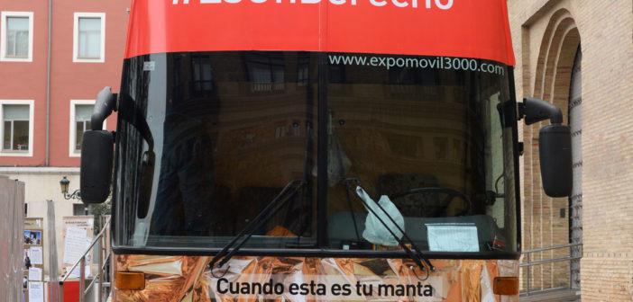 Autobus MIGRAR #EsUnDerecho
