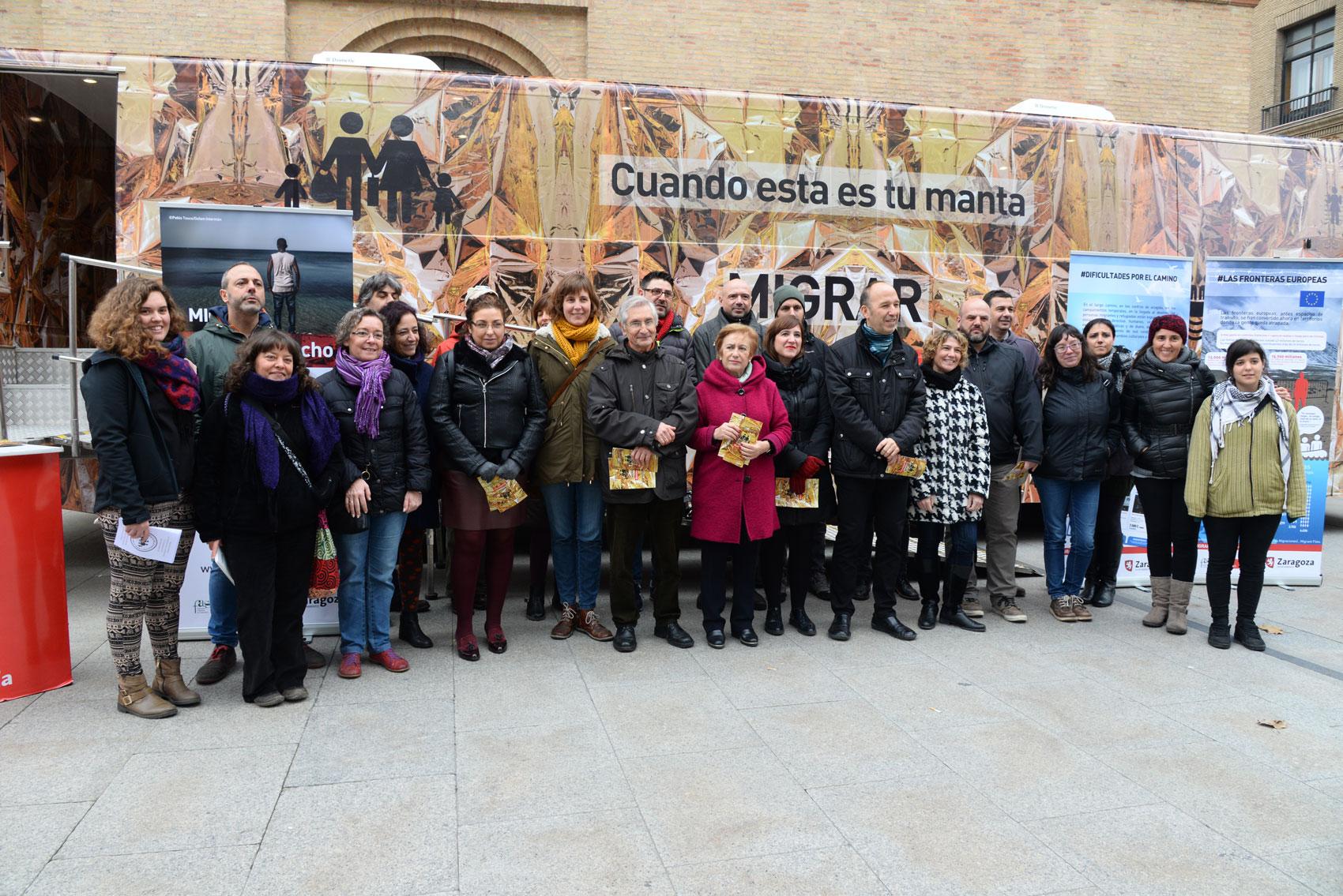 Foto grupo MIGRAR #EsUnDerecho