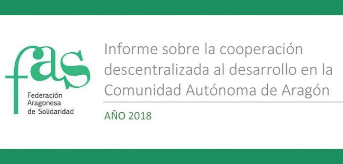 Informe sobre la Ayuda Oficial al Desarrollo de Aragón 2018