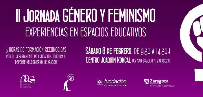 II Jornada «Género y Feminismo: experiencias de trabajo en espacios educativos»