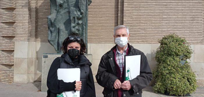 35 ONGD entregan una carta dirigida al Alcalde de Zaragoza
