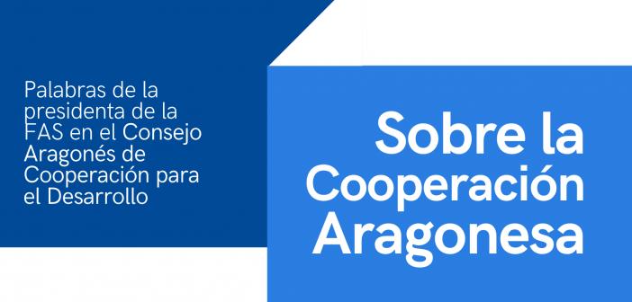 SOBRE LA COOPERACIÓN ARAGONESA
