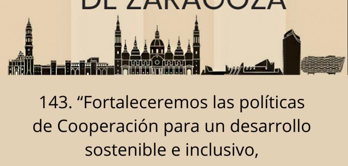 Ayuntamiento de Zaragoza: No reduzca los fondos de Cooperación al Desarrollo