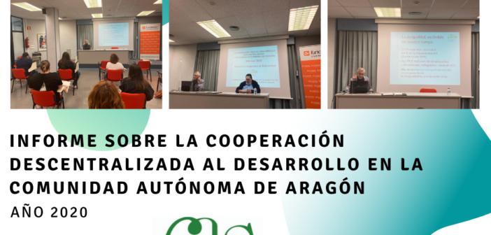 El Informe sobre la Ayuda Oficial al Desarrollo de Aragón 2020 ofrece datos sobre la participación de las administraciones aragonesas en la cooperación al desarrollo.