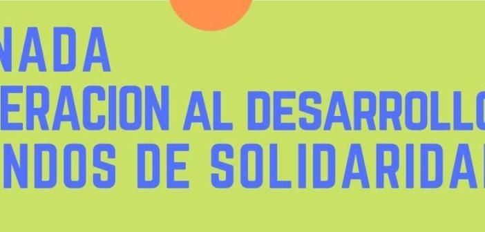 Jornada Cooperación al desarrollo y Fondos de solidaridad